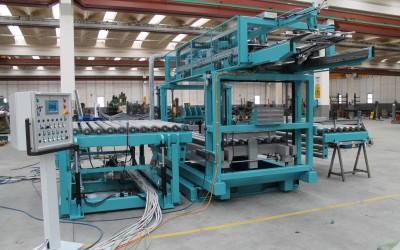 Impianto Speciale Per Lavorazione Lamierino Magnetico
